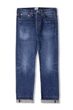 ED-55 Regular Tapered 63 Rainbow Selvage Jeans (Kiyoshi Wash)