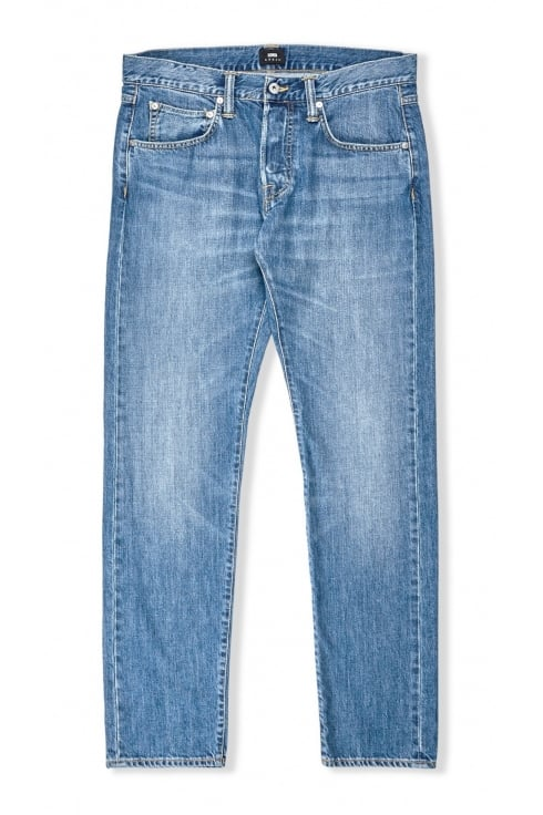 Edwin Jeans ED-55 Regular Tapered Jeans (Clean Wash)