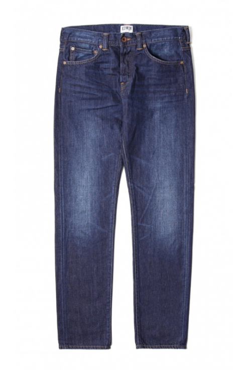 Edwin Jeans ED-55 Regular Tapered Jeans (Coal Wash)