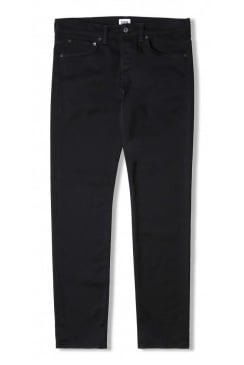 ED-55 Regular Tapered Jeans (CS Ink Black Denim - Rinsed)