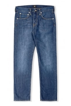 ED-55 Regular Tapered Jeans (Mid Coal Wash)