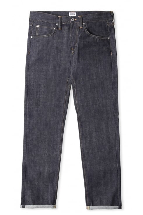 Edwin Jeans ED-55 Regular Tapered Red Listed Selvage Jeans (Unwashed)