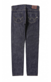 Edwin Jeans ED-80 Slim Tapered Dark Blue Denim Jeans (Blue Rinsed)