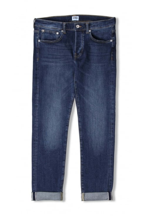 Edwin Jeans ED-80 Slim Tapered Red Listed Selvage Jeans (Blast Wash)