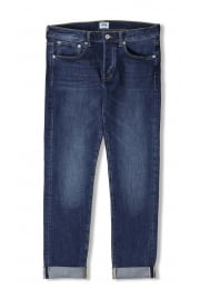 ED-80 Slim Tapered Red Listed Selvage Jeans (Blast Wash)