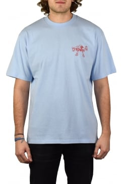 Jet Your Way Short-Sleeved T-Shirt (Pool Blue)