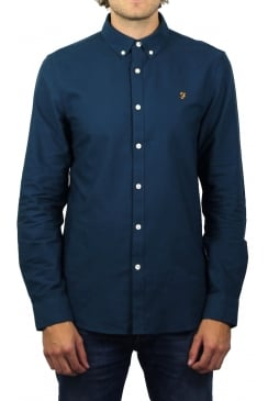 Brewer Long-Sleeved Oxford Shirt (Atlantic)