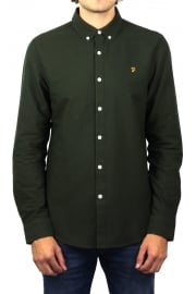 Brewer Long-Sleeved Oxford Shirt (Evergreen)