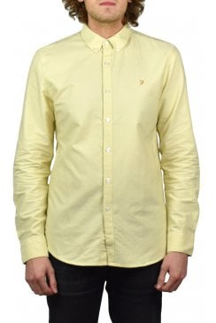 Brewer Long-Sleeved Oxford Shirt (Lemonade)