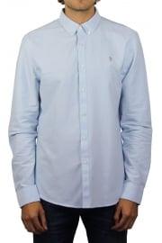 Brewer Long-Sleeved Oxford Shirt (Sky Blue)