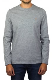 Denny Long-Sleeved Crew-Neck T-Shirt (Gravel Marl)