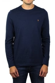 Denny Long-Sleeved Crew-Neck T-Shirt (Yale Marl)