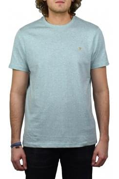 Denny Marl Short-Sleeved Crew-Neck T-Shirt (Green Mist)