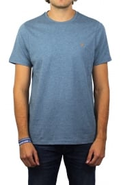 Denny Short-Sleeved Crew-Neck T-Shirt (Cornflower)
