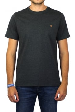 Denny Short-Sleeved Crew-Neck T-Shirt (Dark Asphalt Marl)