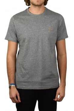 Denny Short-Sleeved Crew-Neck T-Shirt (Gravel Marl)