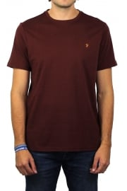 Denny Short-Sleeved Crew-Neck T-Shirt (Red Marl)