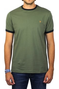 Groves Ringer Short-Sleeved T-Shirt (Military Green)