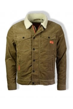Hacienda Chore Coat (Tan Cord)