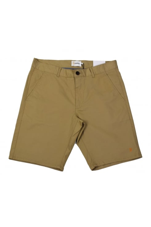 Farah Hawk Chino Shorts (Light Sand)
