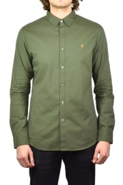 Leon Long-Sleeved Shirt (Military Green)
