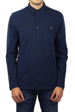 Merriweather Long-Sleeved Polo Shirt (Yale Marl)