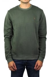 Pickwell Garment-Dyed Sweatshirt (Military Green)