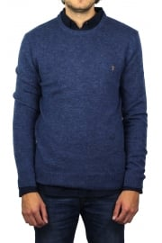 The Rosecroft Knit Jumper (Dusky Blue)