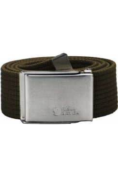 Canvas Belt (Dark Olive)