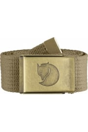 Canvas Brass Belt 4cm (Sand)
