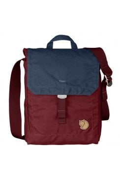 Foldsack No. 3 Shoulder Bag (Ox Red/Navy)