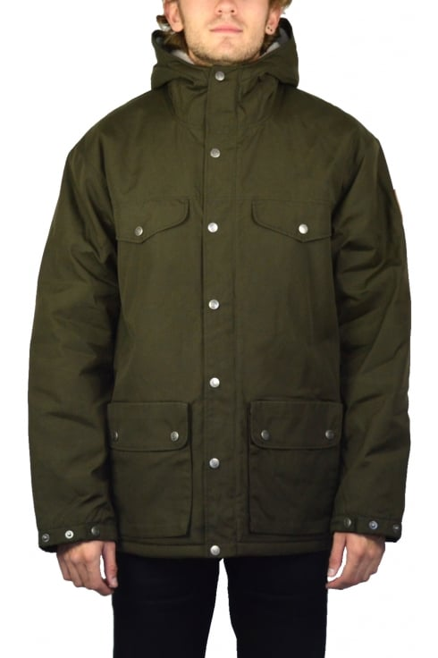 Fjällräven Greenland Winter Jacket (Dark Olive)