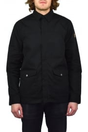 Greenland Zip Shirt Jacket (Black)