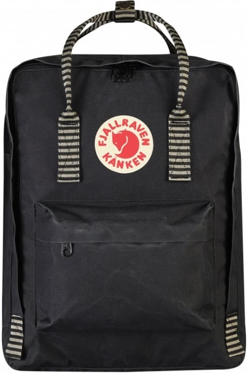 Fjällräven Kånken Backpack (Black Striped)