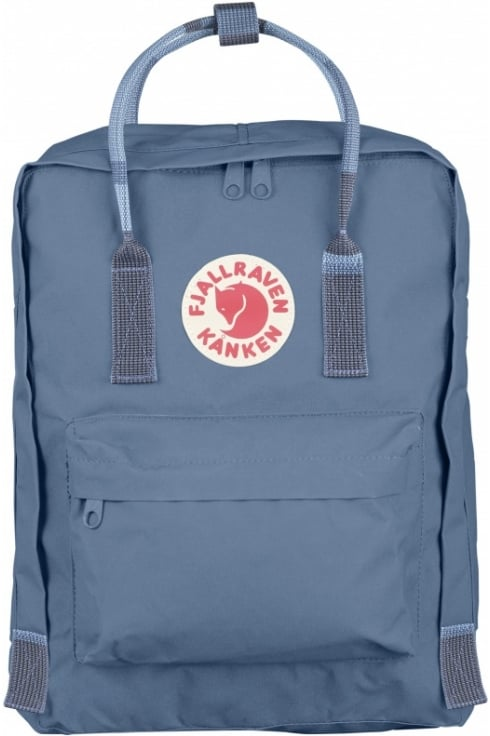 Fjällräven Kånken Backpack (Blue Ridge/Random Blocked)