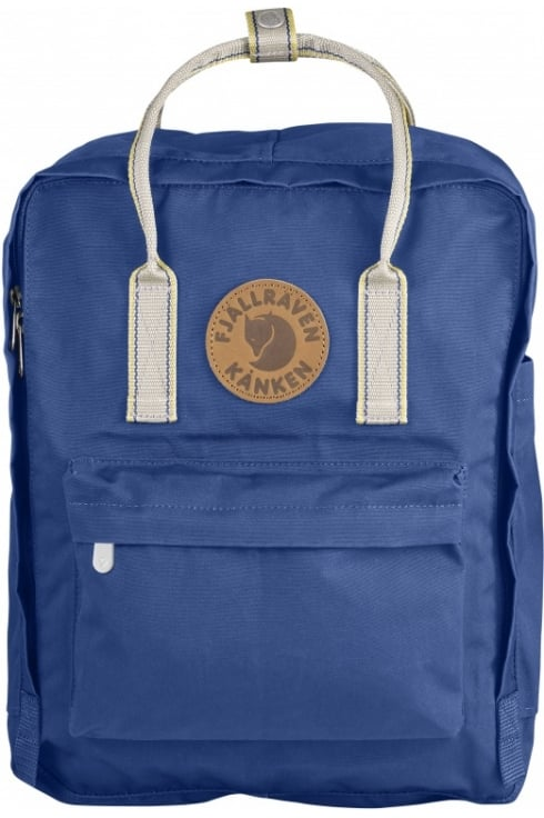 Fjällräven Kånken Greenland Backpack (Deep Blue/Greenland Pattern)