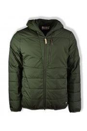 Keb Padded Hooded Jacket (Deep Forest)