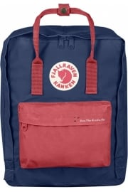 'Save the Arctic Fox' Kånken Backpack (Royal Blue/Peached Red)
