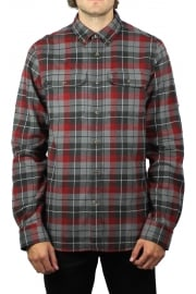 Singi Heavy Flannel Shirt (Dark Grey)