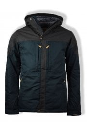 Skogsö Padded Jacket (Dark Navy/Dark Grey)