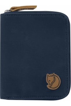 Zip Wallet (Navy)