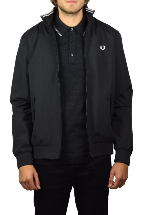 Fred Perry Brentham Jacket (Black)