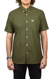 Classic Oxford Short-Sleeved Shirt (Nettle)