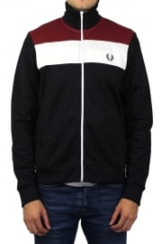 Colour Block Track Jacket (Navy)