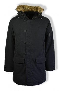 Down Snorkel Parka Jacket (Black)