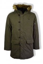 Down Snorkel Parka Jacket (Dark Thorn)