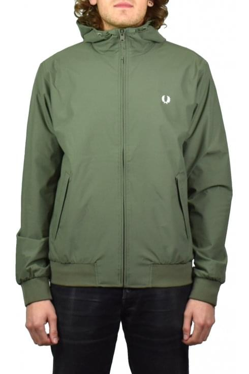 Fred Perry Hooded Brentham Jacket (Olive Drab)
