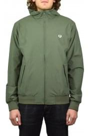 Hooded Brentham Jacket (Olive Drab)