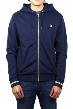 Hooded Sweatshirt (Carbon Blue)