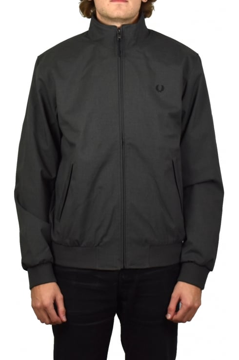 Fred Perry Marl Brentham Jacket (Charcoal)